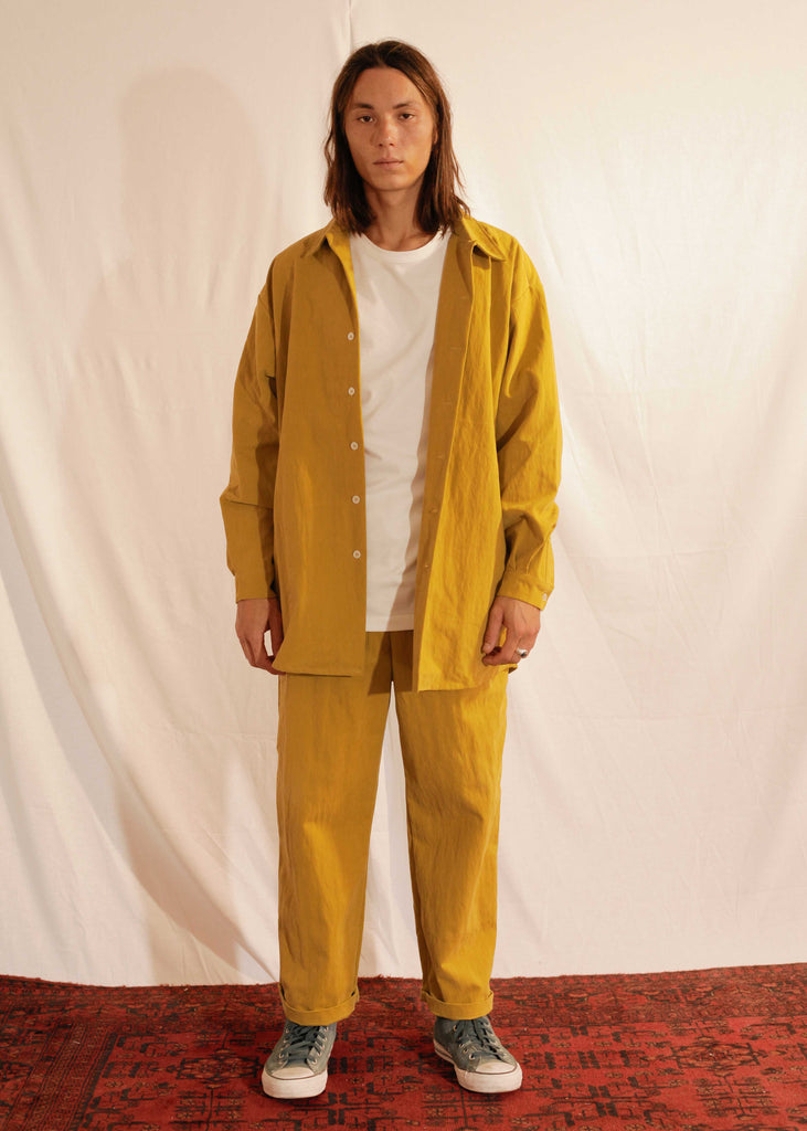 Unisex Oversized Shirt Mateo in Cotton Polyamide