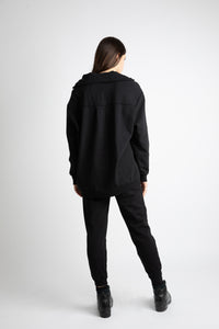 Zipped Sweatshirt ''Poe''