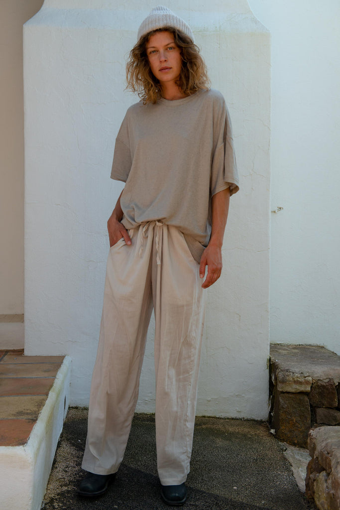 Oversized T-Shirt in Crokery
