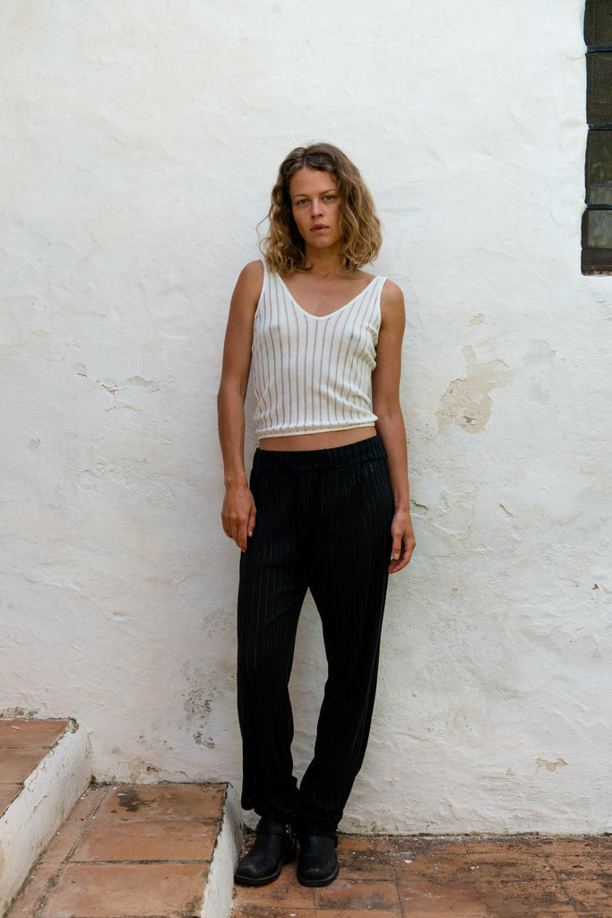 Martha Loose Pants in Black