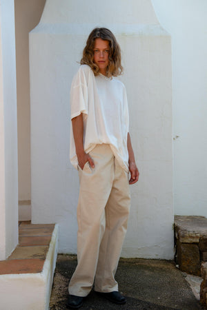 Oversized T-Shirt in Off White