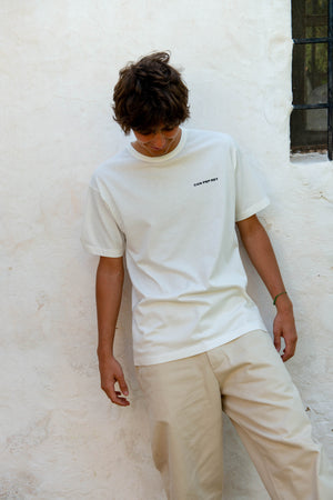 Unisex Logo T-Shirt S/S in White