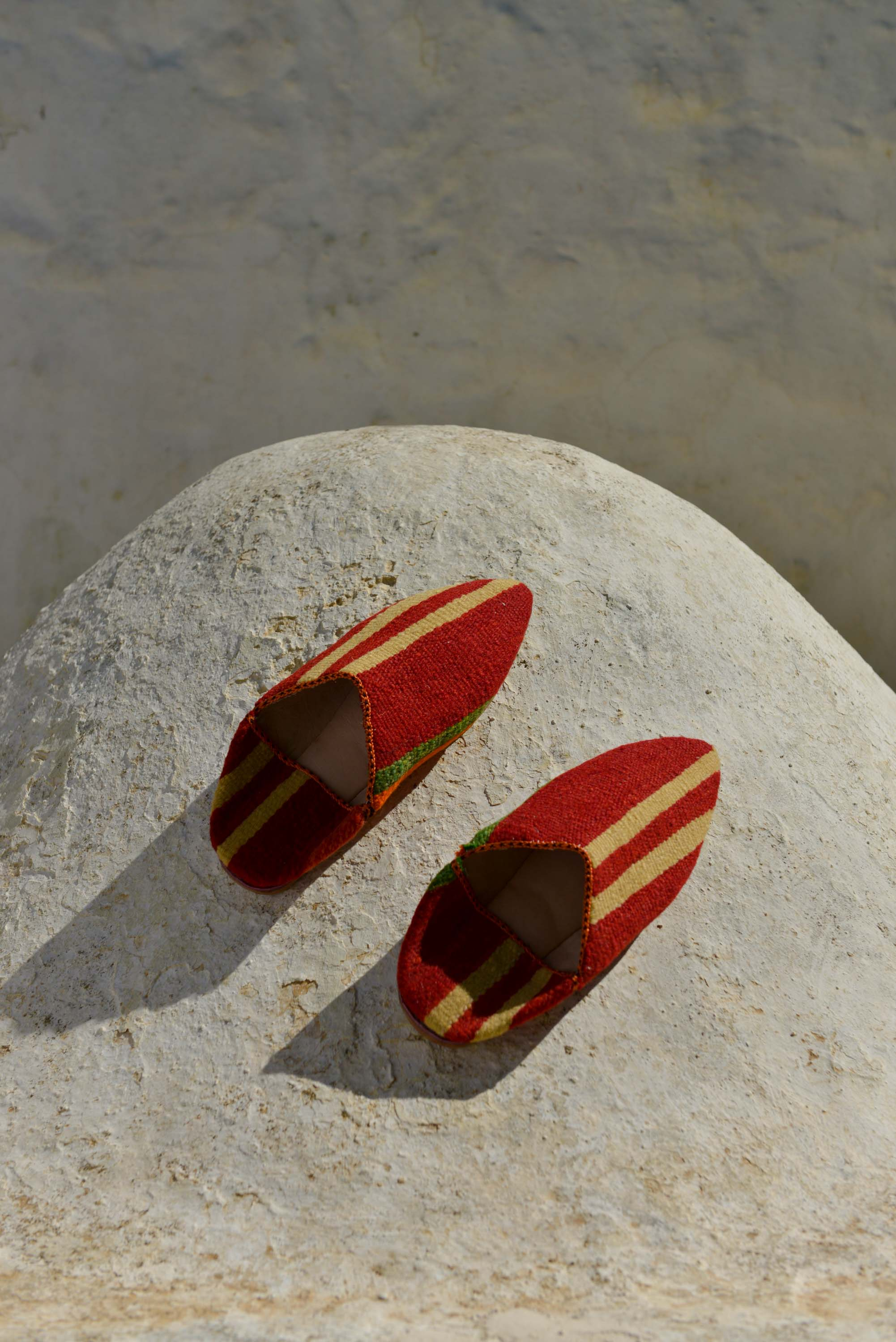 Habibi Slippers - Red