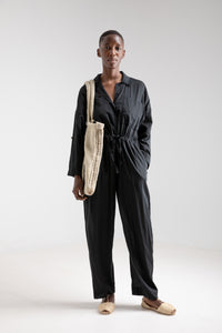 Cotton Modal Worker's Jumpsuit