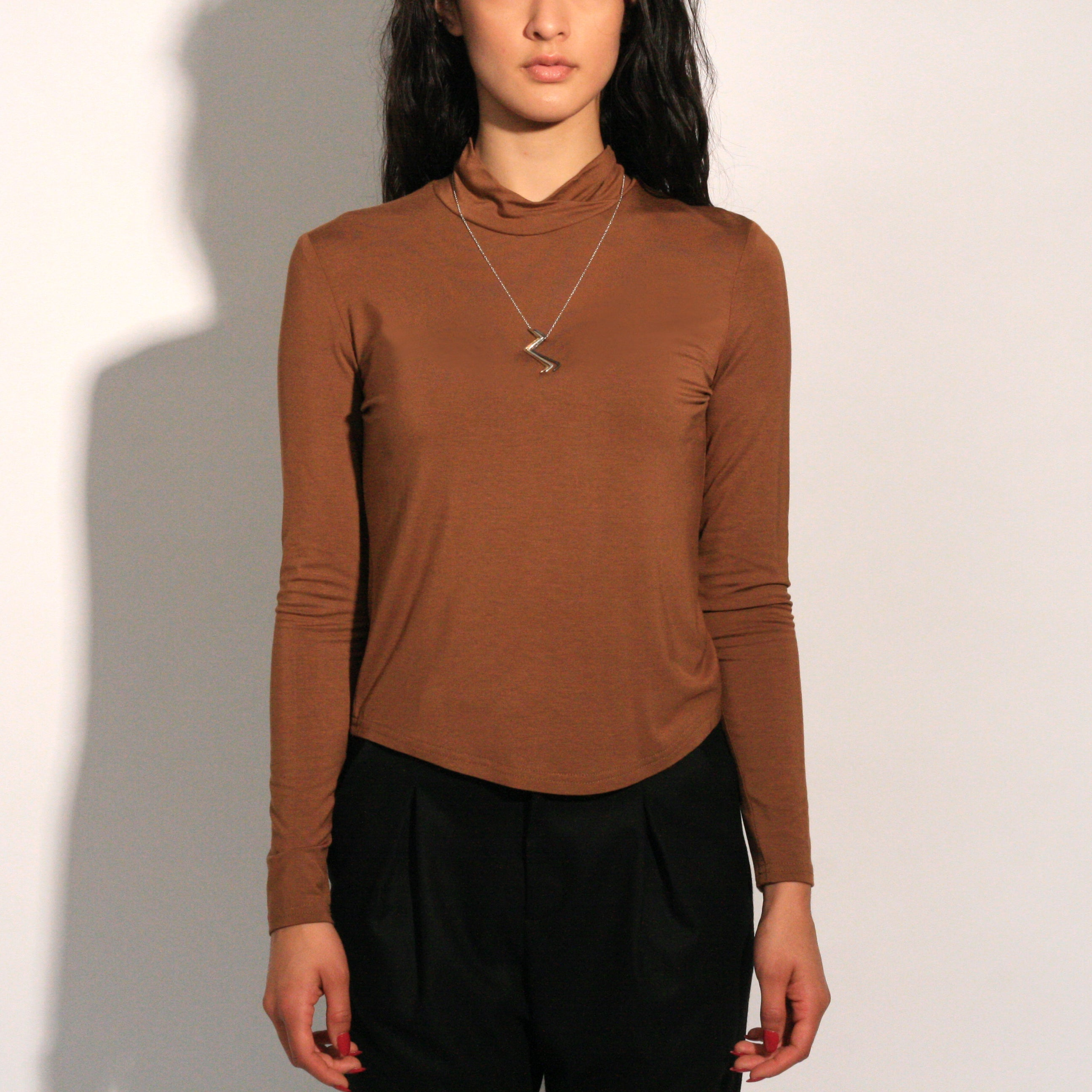 Sagan Turtleneck Top