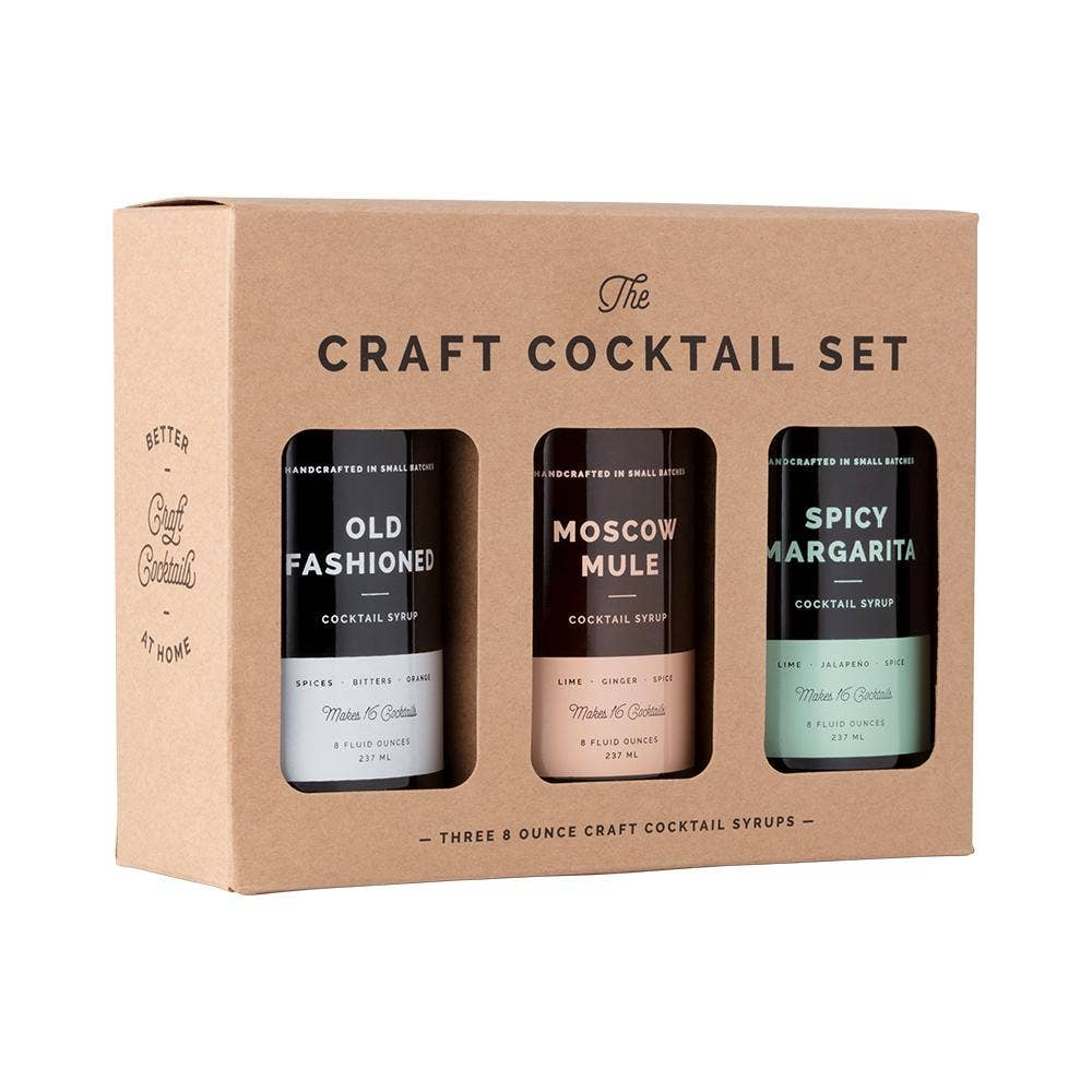 W&P - Craft Cocktail Syrup Set