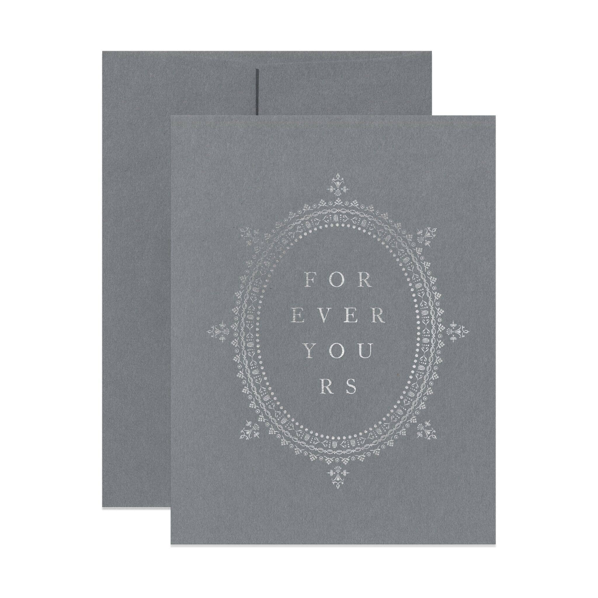 Open Sea - Forever Yours Greeting Card