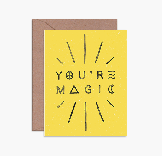 Daydream Prints - You're Magic Card