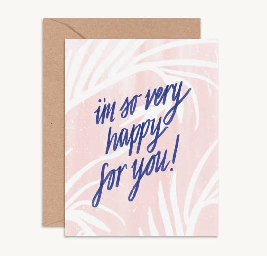 Daydream Prints - Happy for You Card