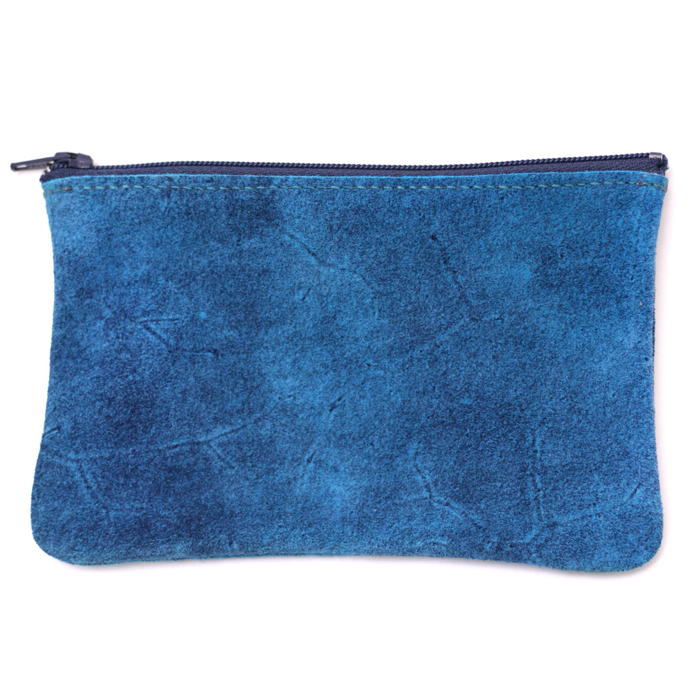 Tracey Tanner Distressed Zip Pouch (blue)