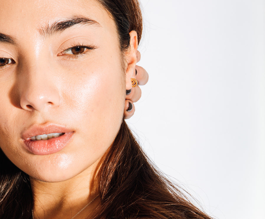 Attracts the Sun Stud Earrings