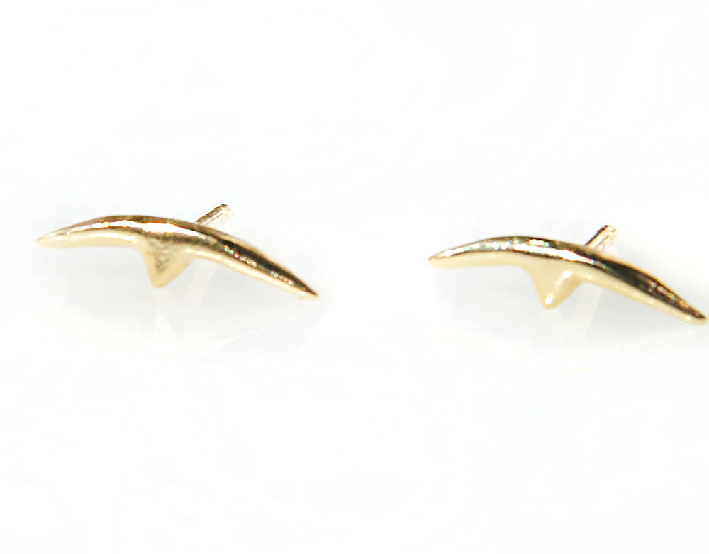 Breaker en Pointe Stud Earrings