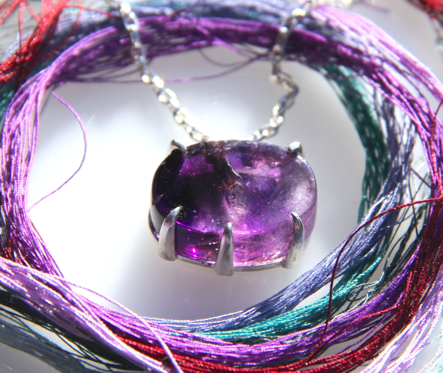 Oval (Cosmic Egg) Super Seven Necklace