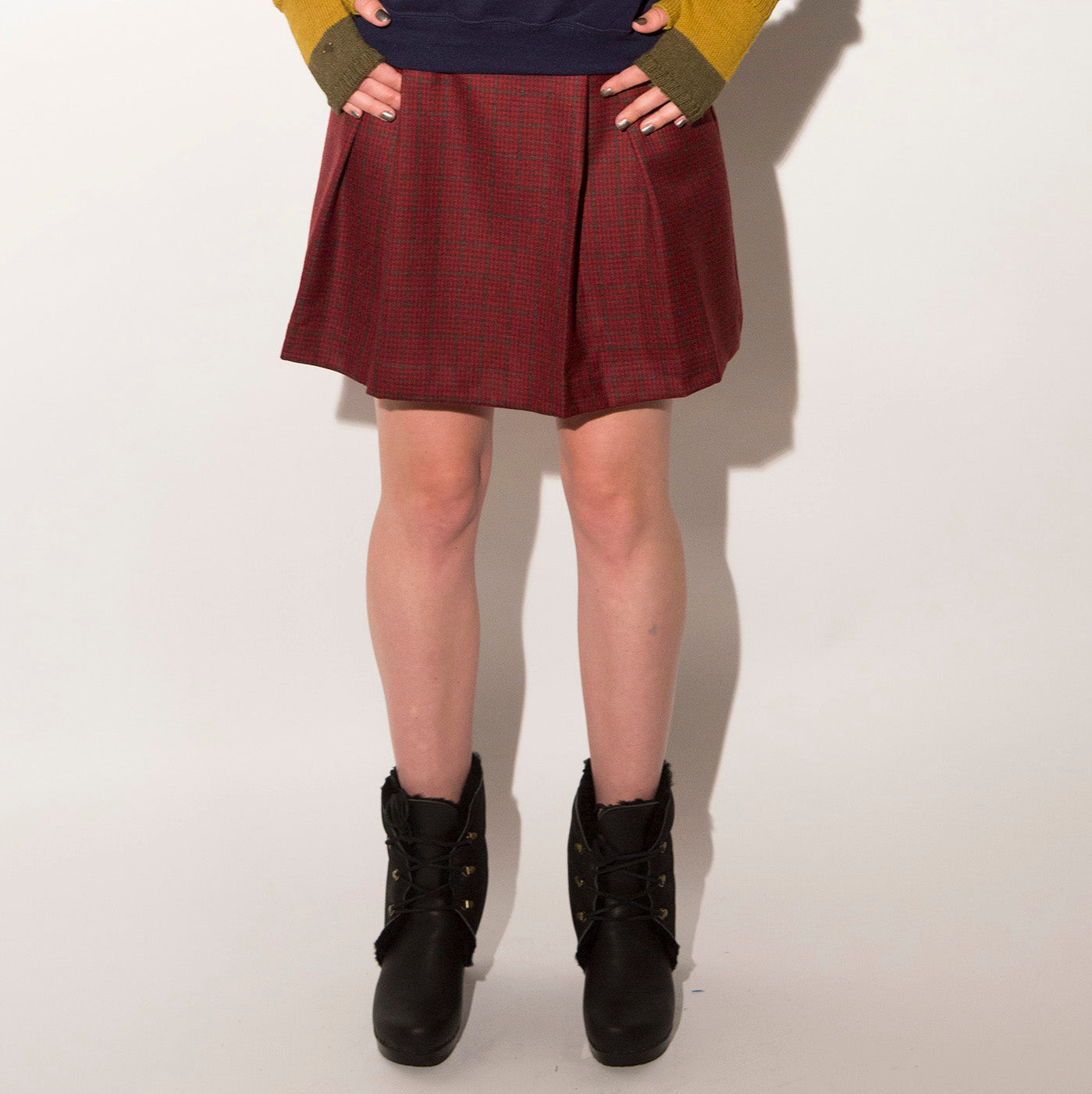 Family Affairs Mayflower Wool Skirt
