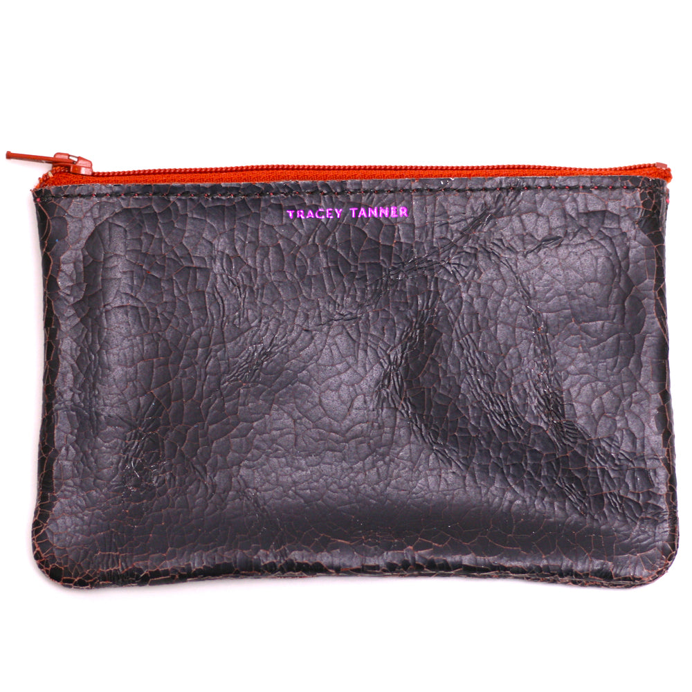Tracey Tanner Distressed Pouch (maroon)