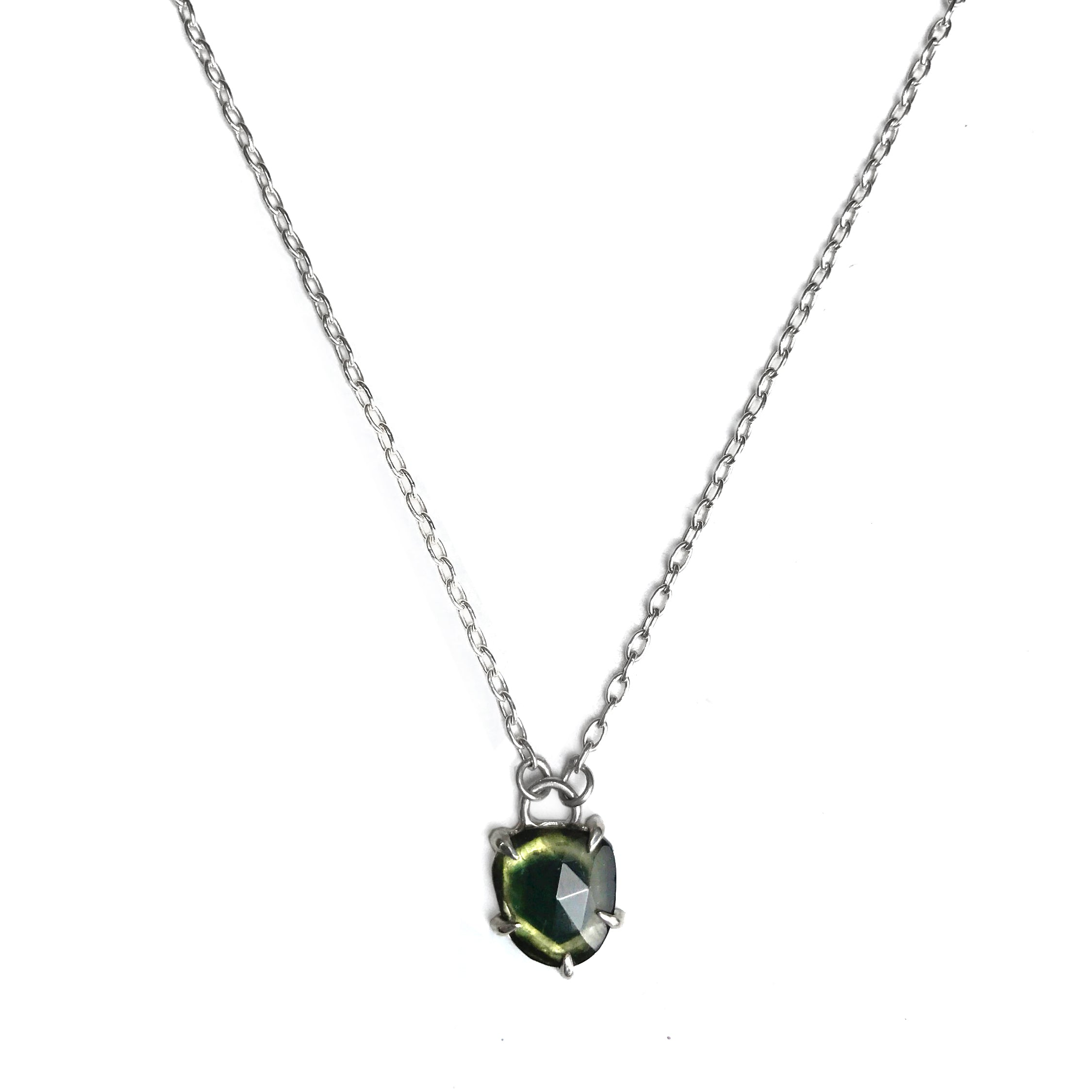 Green Tourmaline Necklace