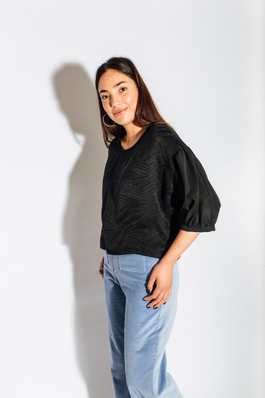 Eve Gravel Au Noir Top
