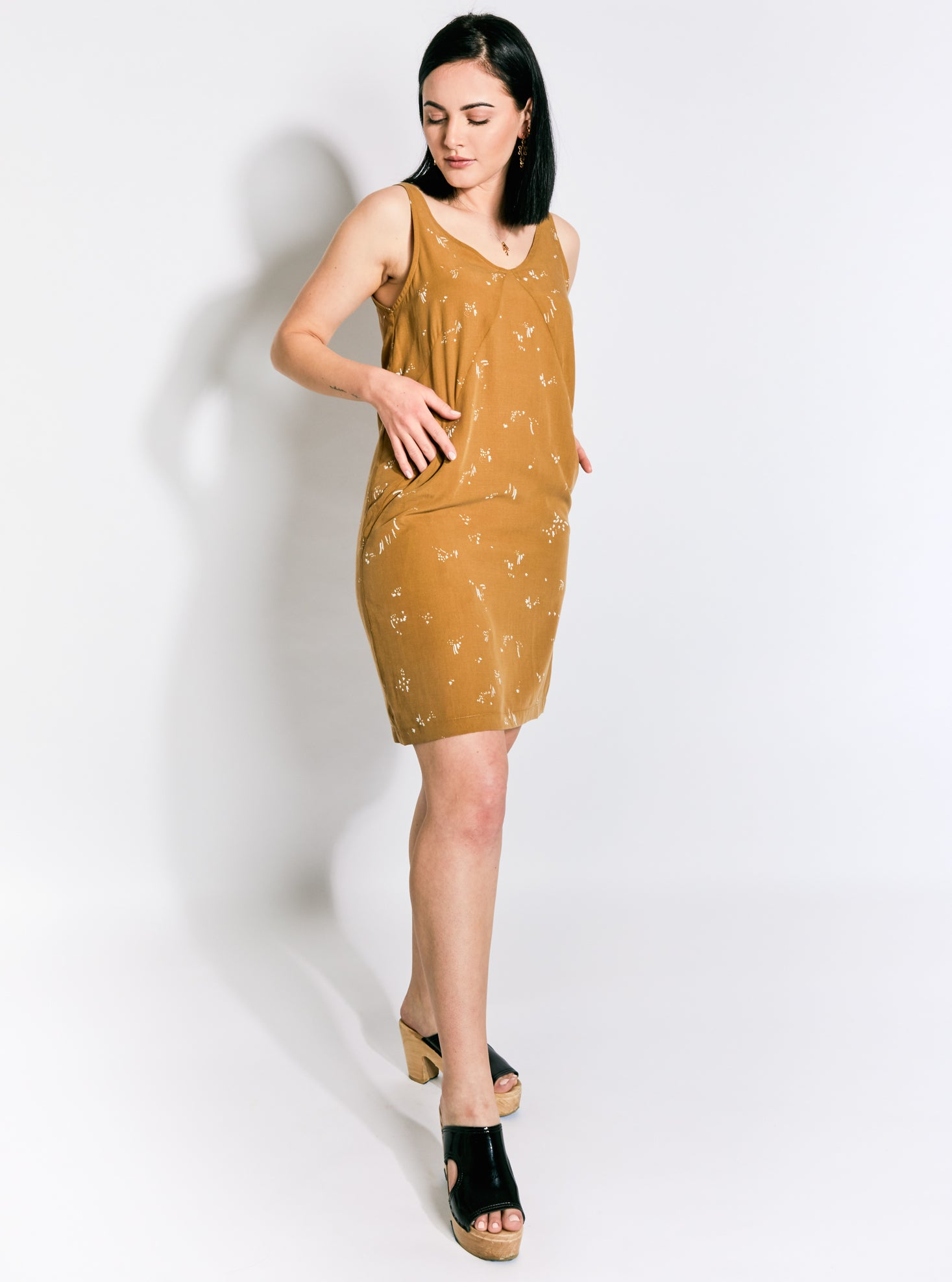 Eve Gravel Lantana Dress