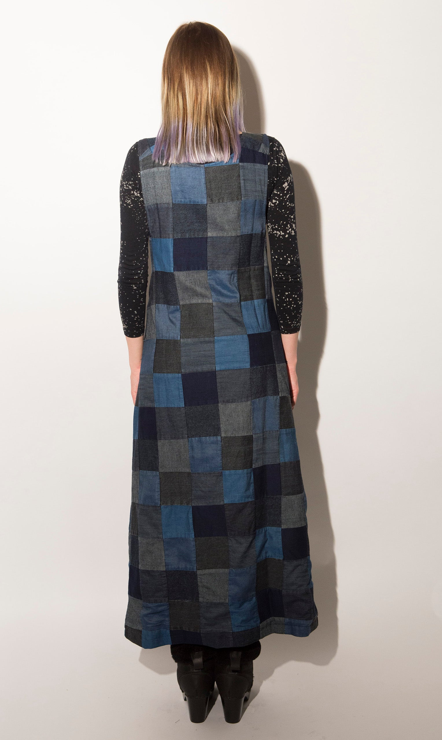 Mary Meyer Denim Patchwork Maxi