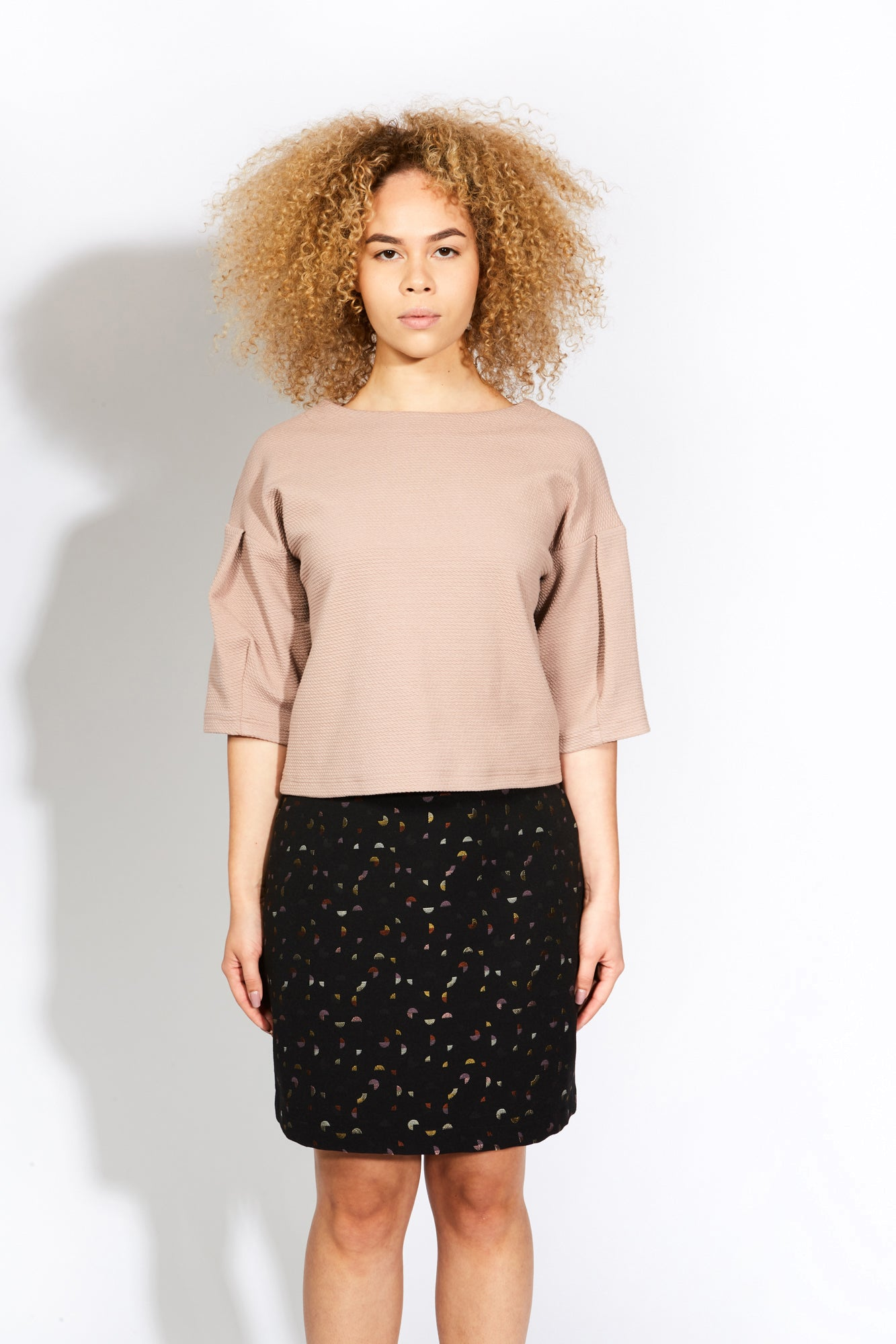 Eve Gravel Digital World Skirt