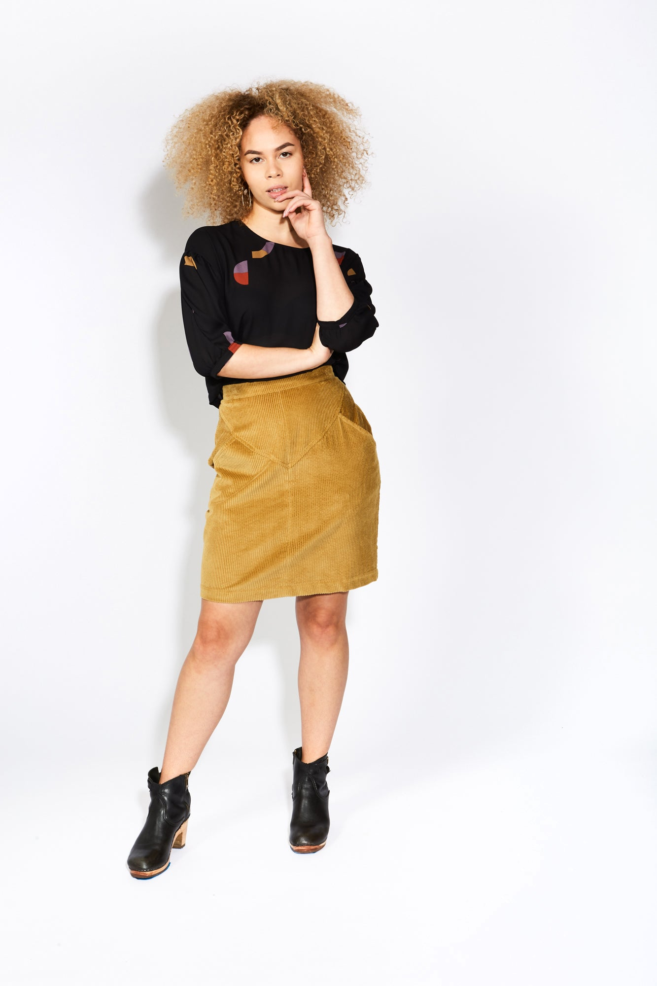 eve gravel inside jokes skirt