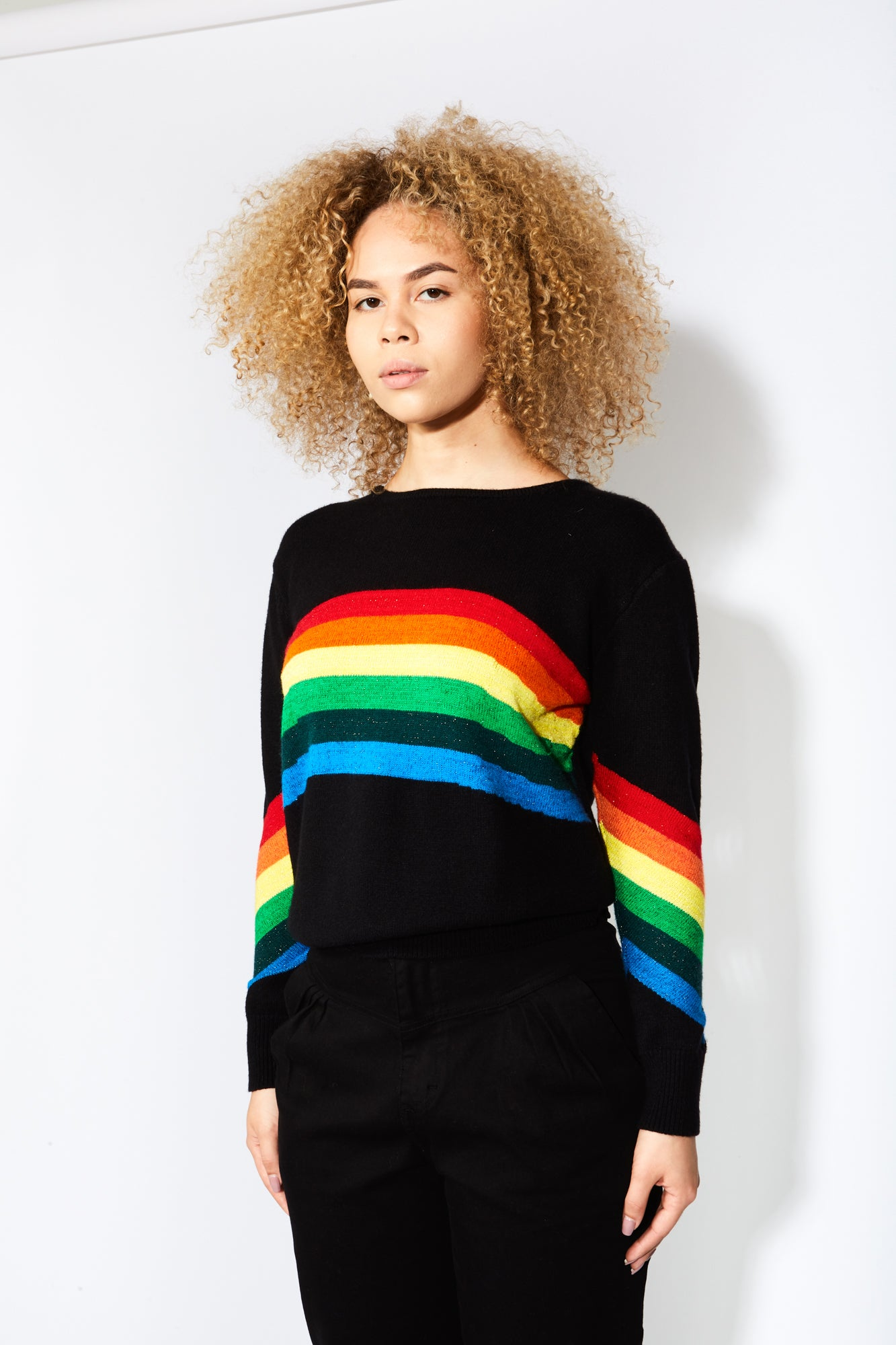 Sugarhigh Lovestoned Rainbow Sweater