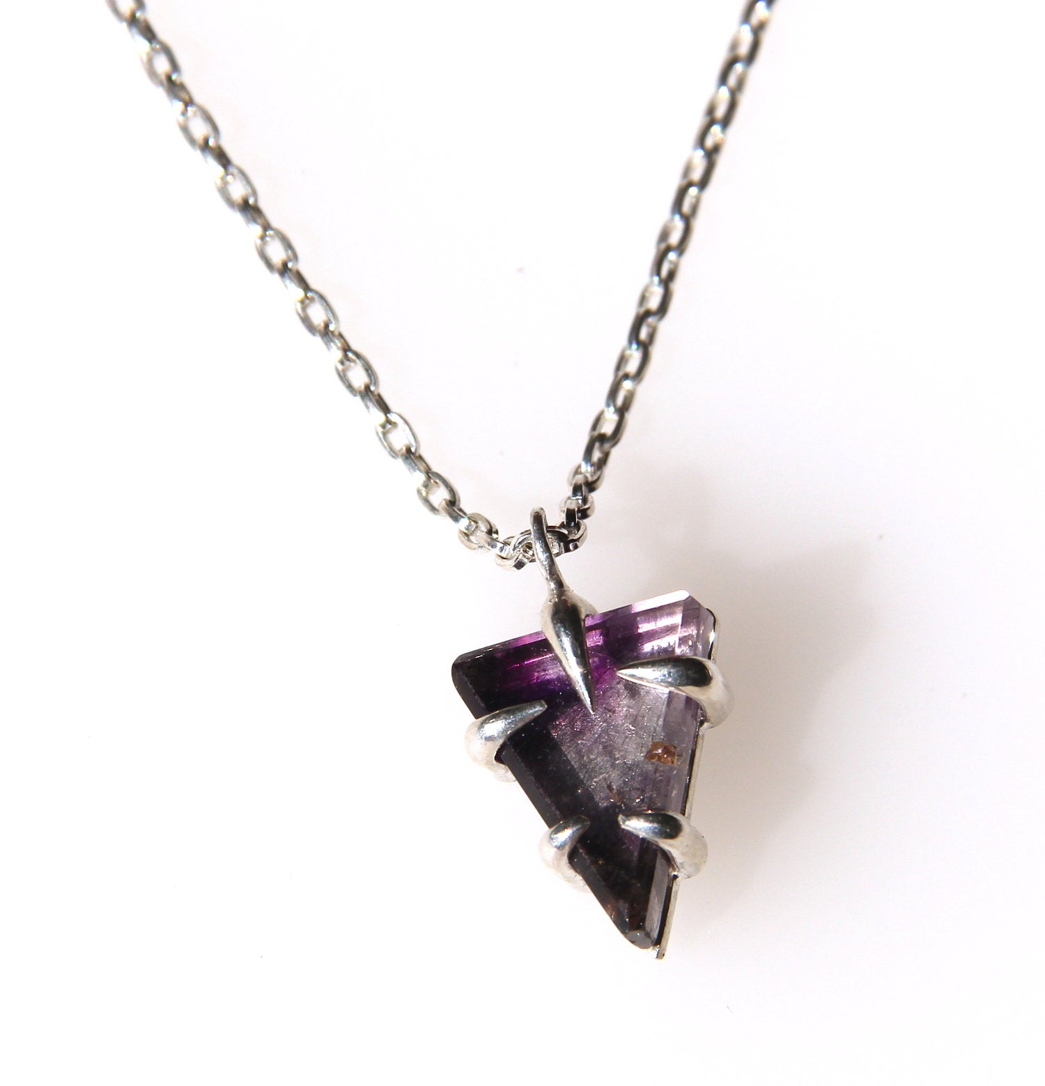 5-prong Super Seven Necklace