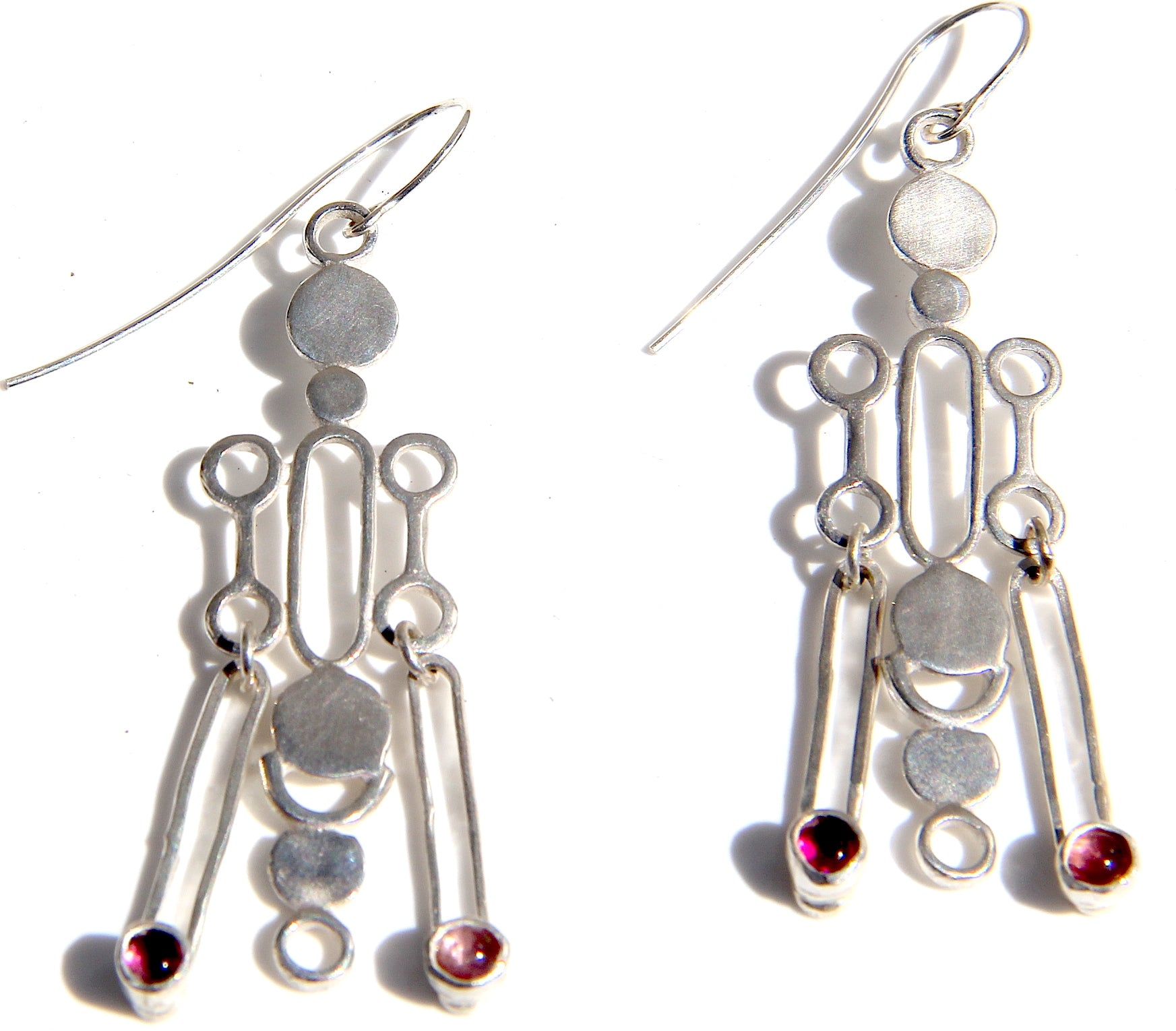 Silver Caledula Earrings