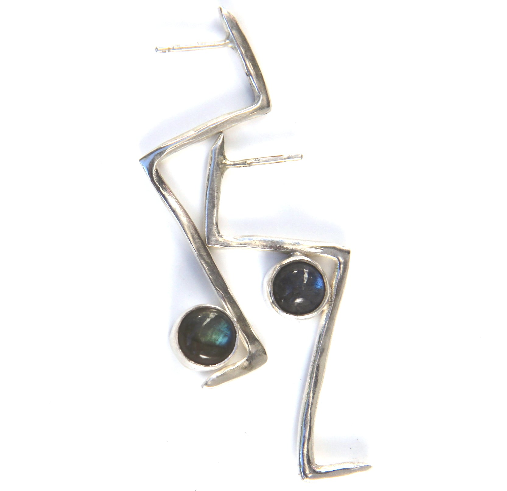 Space Oddity Earrings from the Bowie Collection by Lady J Jewelry