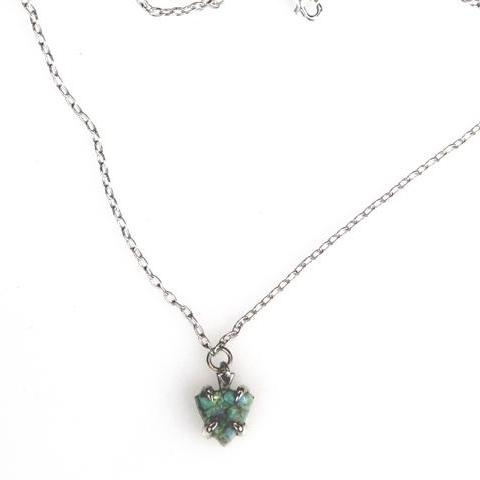 Sterling Opal Necklace