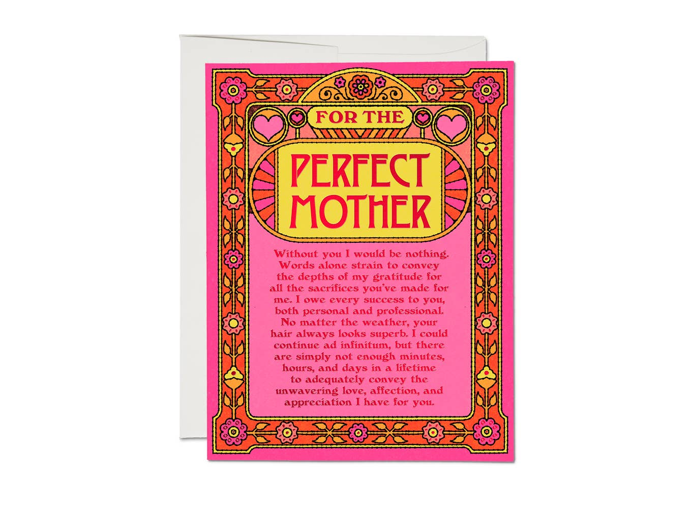 Red Cap Cards - Perfect Mother