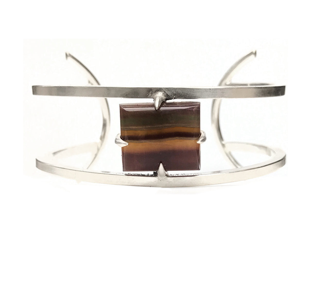 Banded Fluorite Cuff