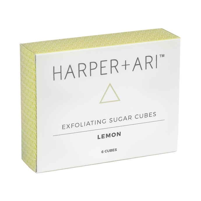 Harper + Ari - Exfoliating Sugar Cubes - Lemon Gift Box