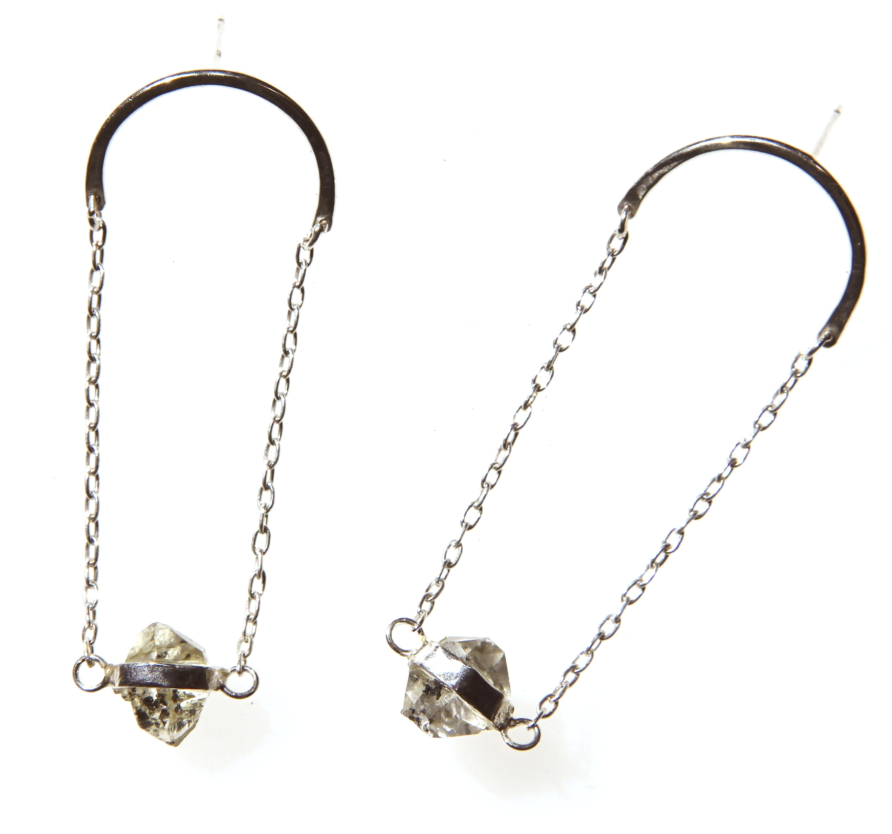 Rising Star Arc Earrings