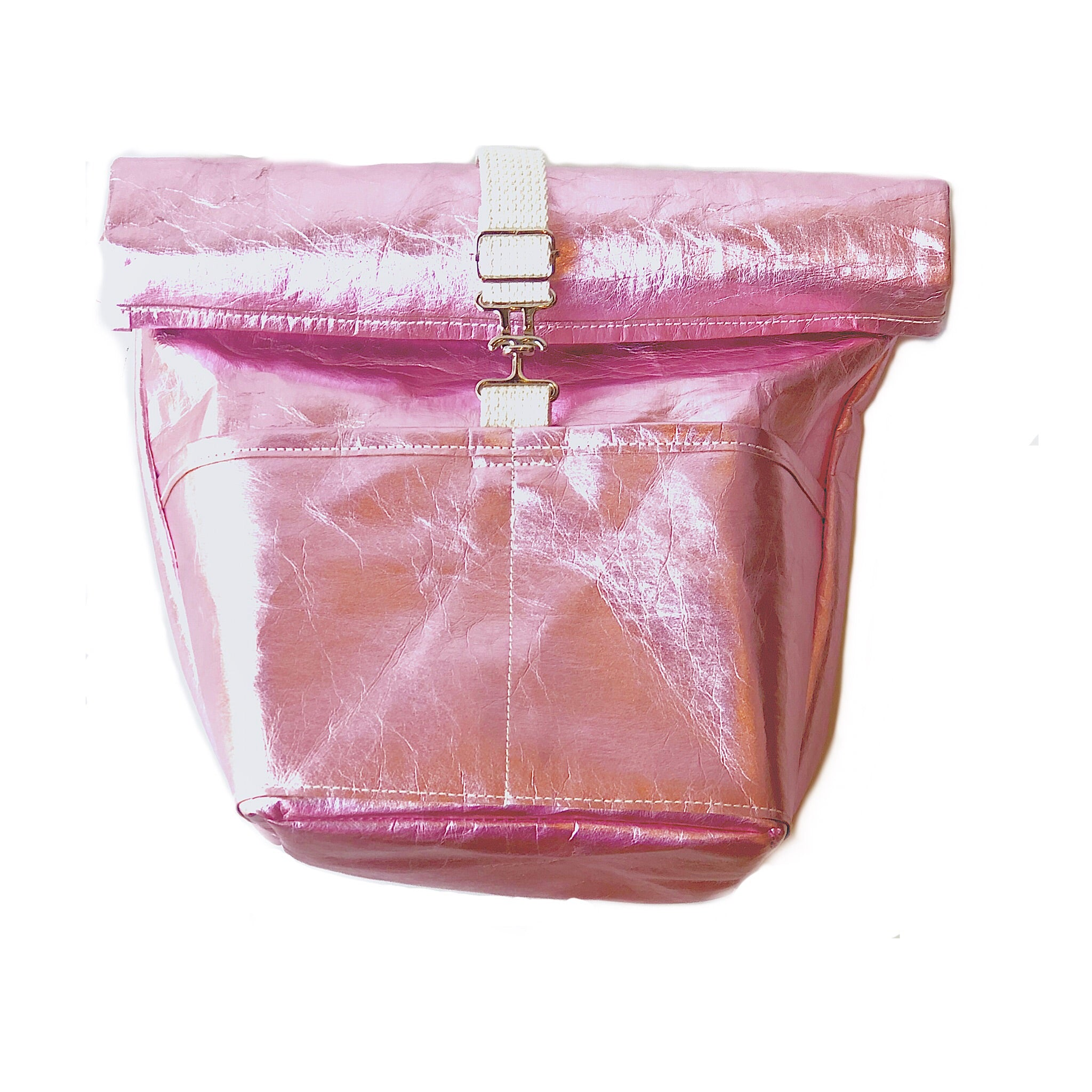 Urbana Sac Mini Backpack in Black or Metallic Pink