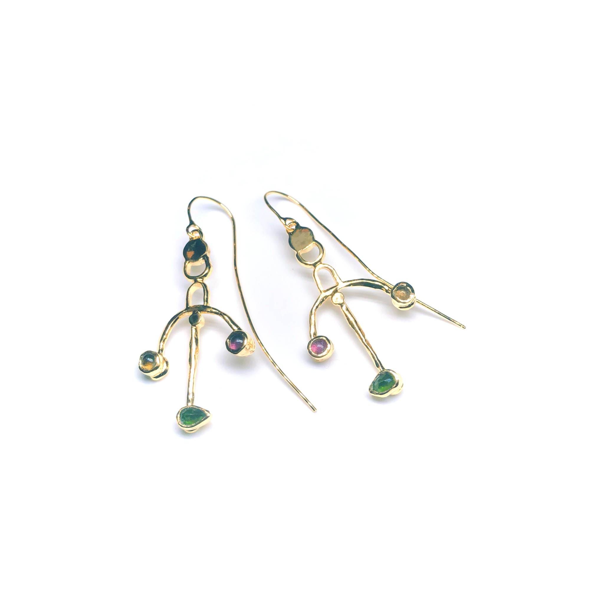 Irati Arc Earrings In vermeil