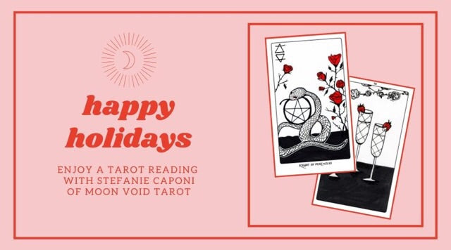 Happy Holiday Tarot Reading with Stefanie