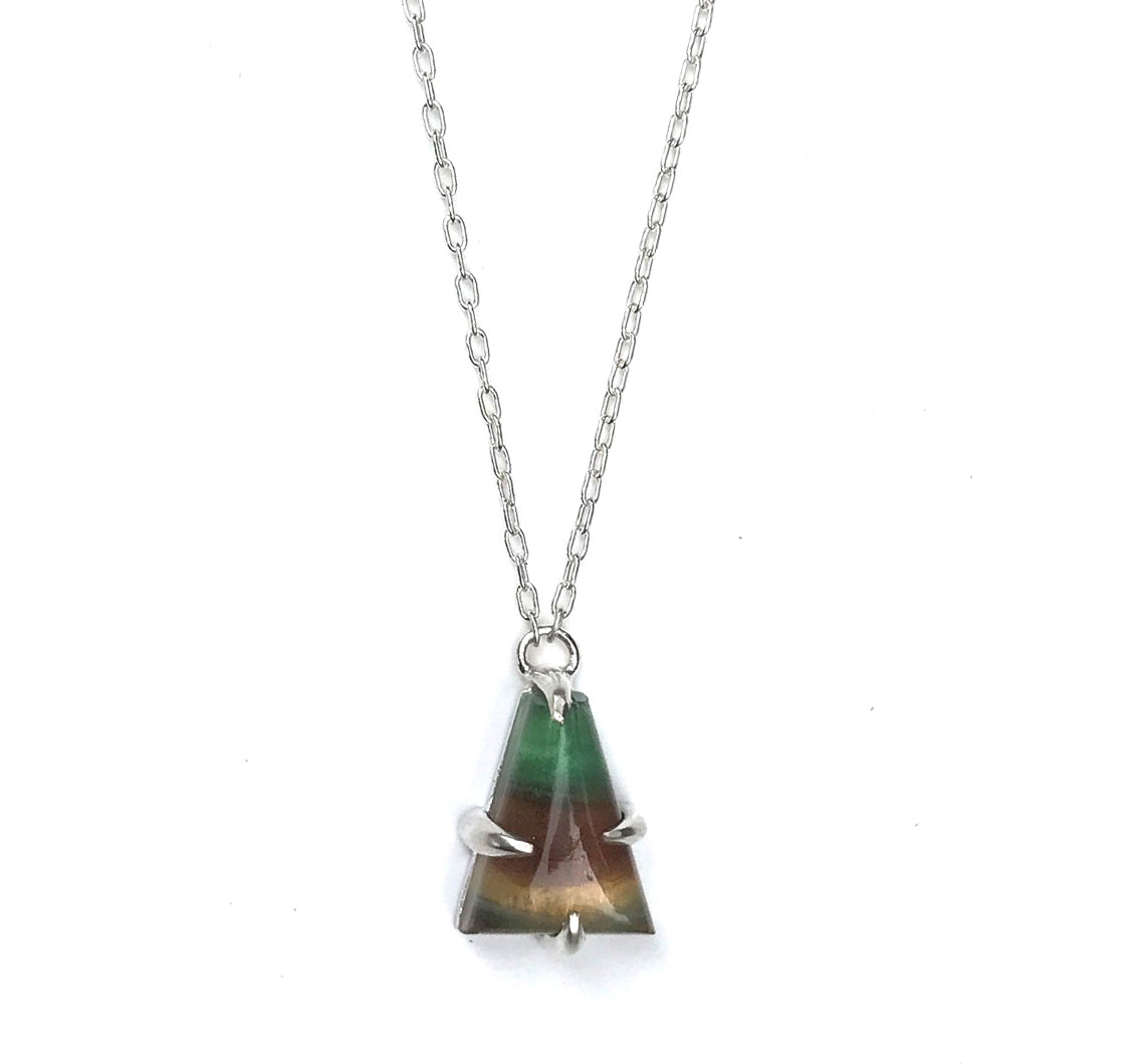Banded Fluorite Necklace