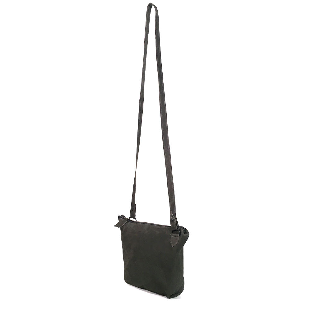 Saint Catello Cross body in Black Forest Green