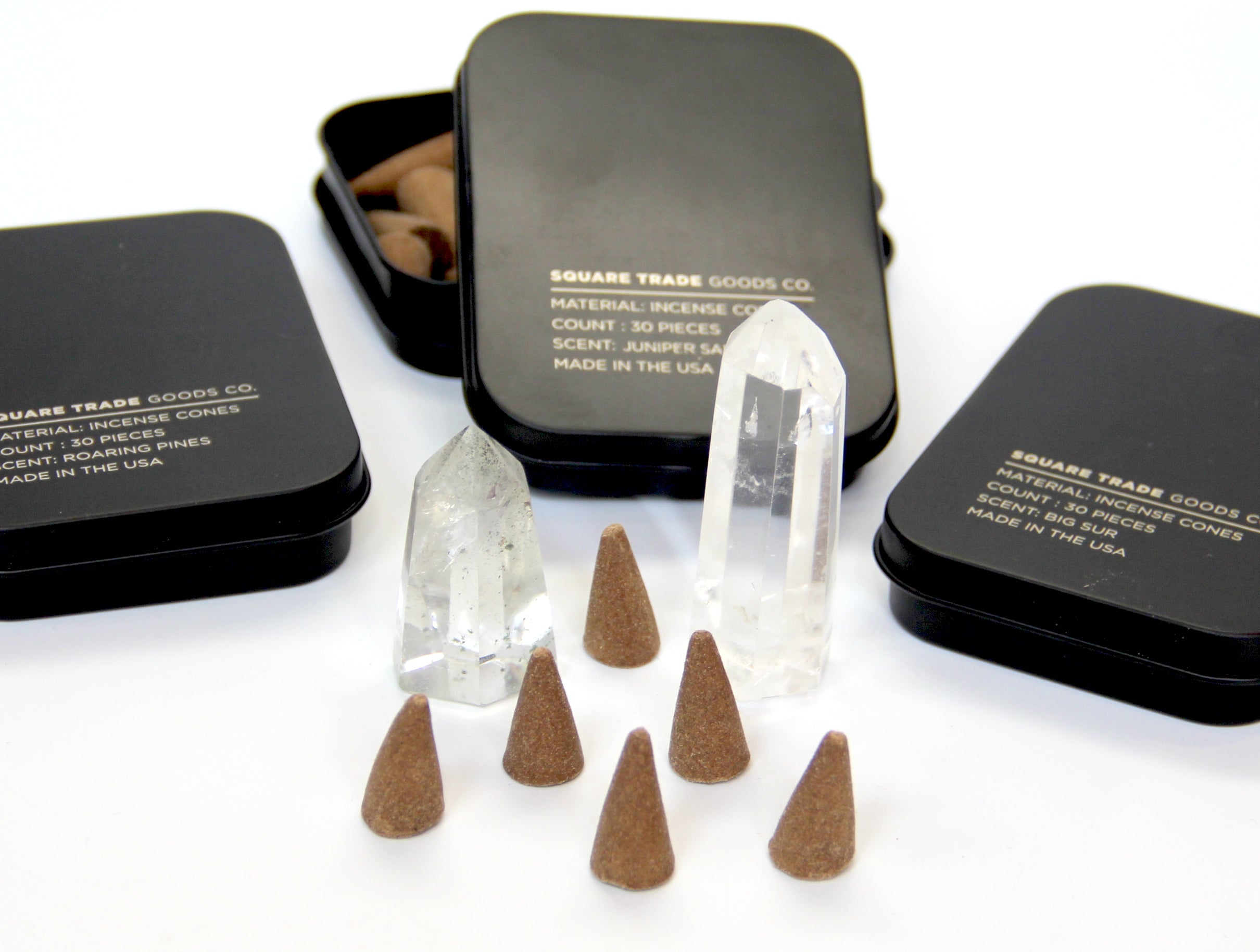 Square Trade Goods Cone Incense