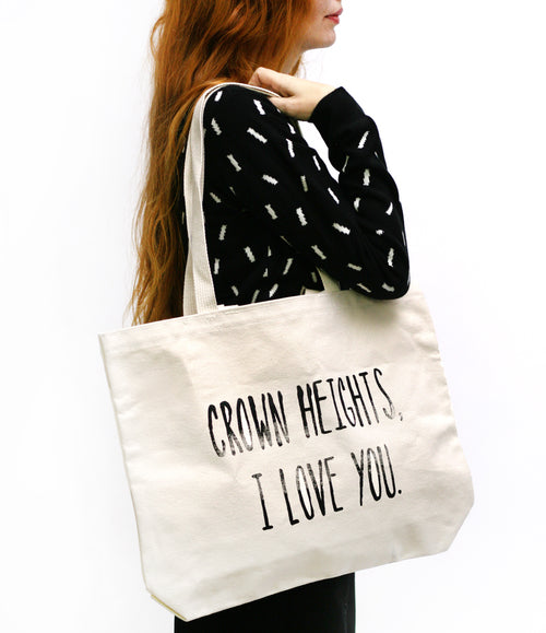 Crown Heights I love You Tote