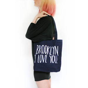 Lovewild Brooklyn, I love You Tote