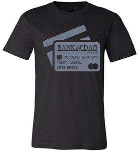 Bank of Dad (Black)