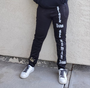 Adult Black Lives Joggers