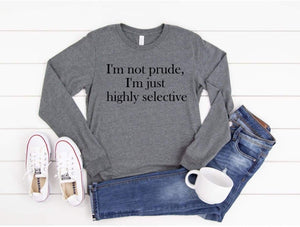I'm Not Prude - Kids Tee