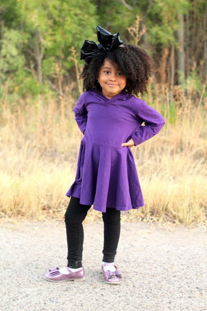 Fall Long Sleeve Tunic Length Peplum