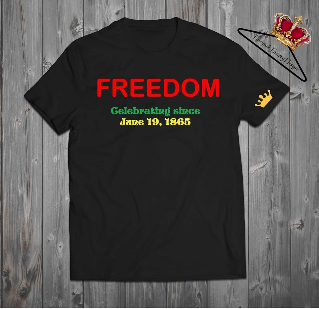 Juneteenth - Adult's shirt