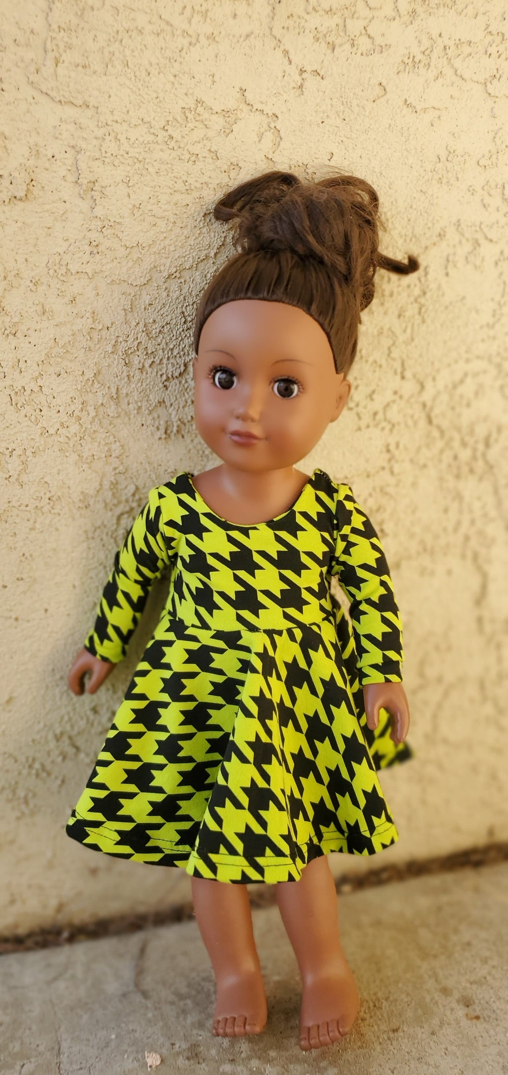 Clueless Lime Green - Dolly Dress