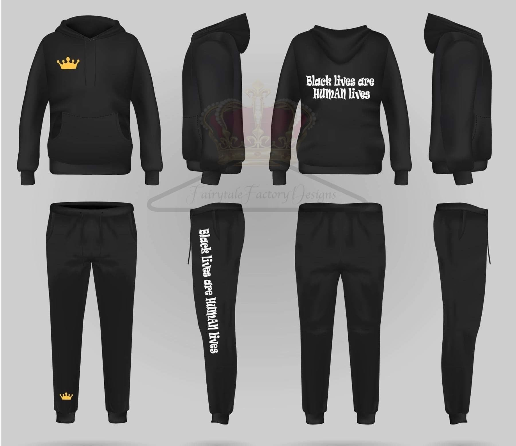 Youth Black Lives Joggers