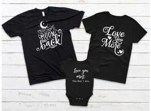Love you more Adult tee